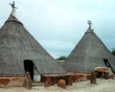 Pedi huts