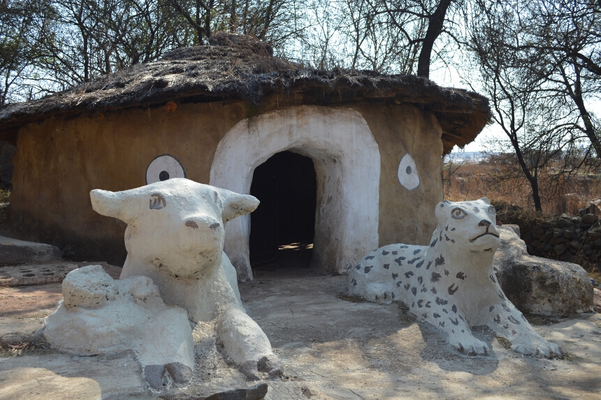 Village Created by Credo Mutwa Soweto