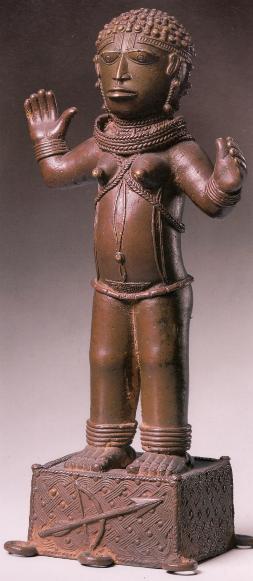 Benin female figure