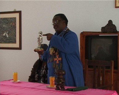 Credo Mutwa Teaching at the Buddhist Seminary