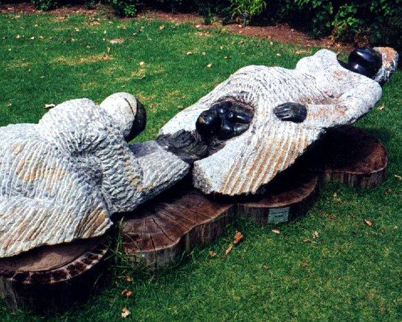 Kirstenbosch sculpture birth