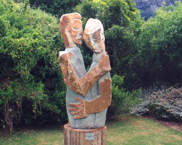 Kirstenbosch sculpture lovers