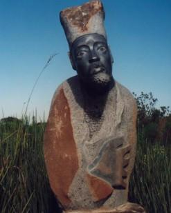 Kirstenbosch sculpture man