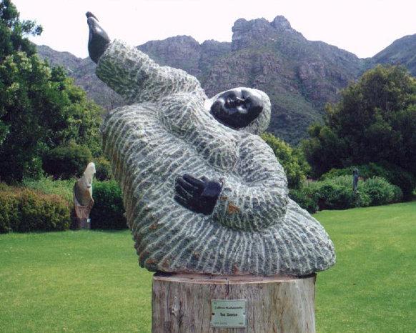 Kirstenbosch sculpture woman