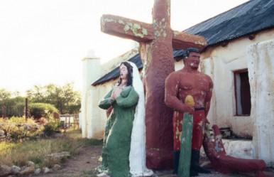 mission church sculpture