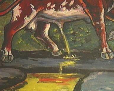Credo painting detail